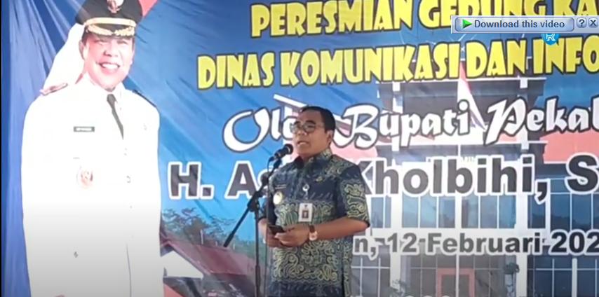 Gedung Dinkominfo Kabupaten Pekalongan Jadi Pusat Pengolahan Data Konvensional Menjadi Digital